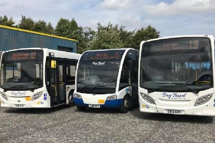 Bay Travel buses provide the L3/13 service.