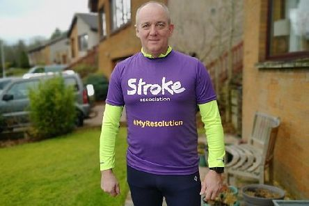 Iain Vincent, from Glenrothes, is taking part in the Resolution Run