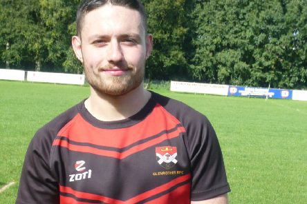 Glenrothes rugby player Connor Young