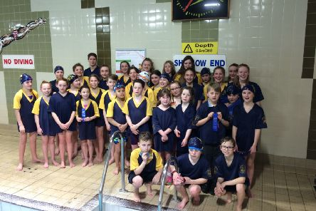 Cupar and District swimmers.