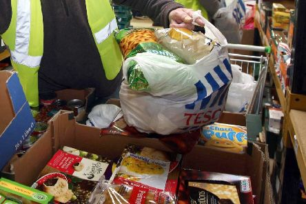 Foodbanks are struggling to meet the demand for services.