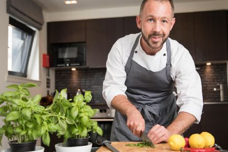 Barry trained as a chef at Elmwood College.