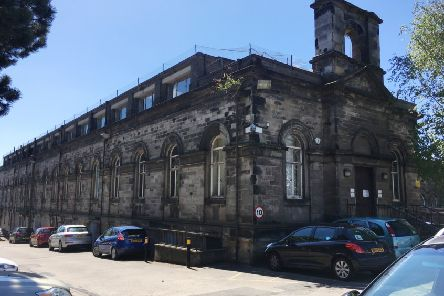 A proposal to turn Forth House, originally a linen weaving factory in Kirkcaldy, into flats.