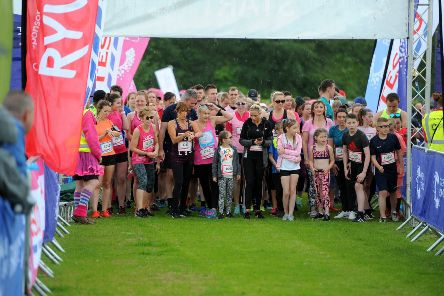 Race for Life 2019 at Beveridge Park, Kirkcaldy on Sunday, June 16. Pictures by Fife Photo Agency.