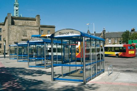 Kirkcaldy Bus Station  (Pic:  Fife Council)