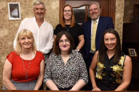Organisers and judges of the Fife Women Rock Awards.  Pic: Fife Photo Agency