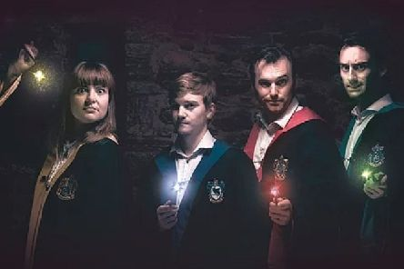Spontaneous Potter - appearing at the Byre Theatre