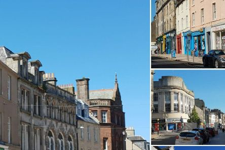 Kirkcaldy town centre - cover of shopfront initiative brochure