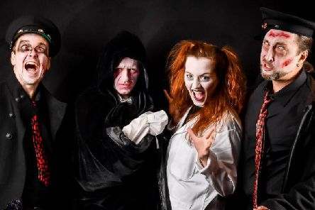 Fright Night interactive murder mystery in Fife