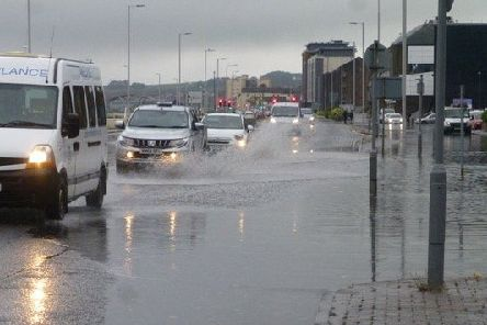 Kirkcaldy has already been hit by several floods this year. Picture: Martin Blankenstein