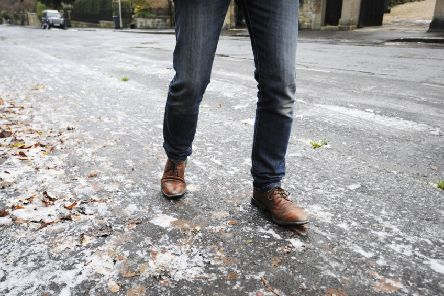 Roads and pavements could become dangerous.