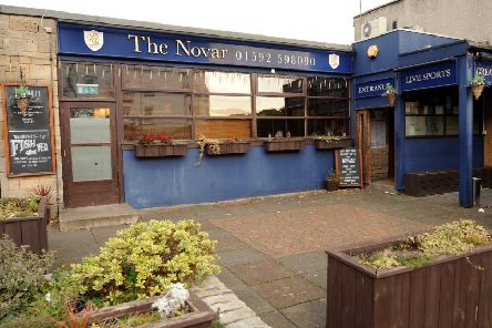 The incident took place in the street outside the Novar Bar in Kirkcaldy in August. Pic:  Fife Photo Agency.