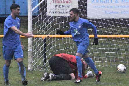Kieran Band was back on the scoresheet for Kennoway.