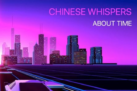 Chinese Whispers' new album cover