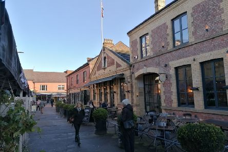 Altrincham, near Manchester - transformed from a ghost town
