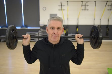 Andy Glass is attempting to try and set the Guinness world record for the most Bodypump classes attended in a year. Pic: George McLuskie.