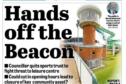 Fife Free Press front page
