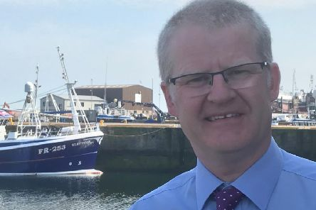 Ronnie Birnie has taken over management of the Broch office.