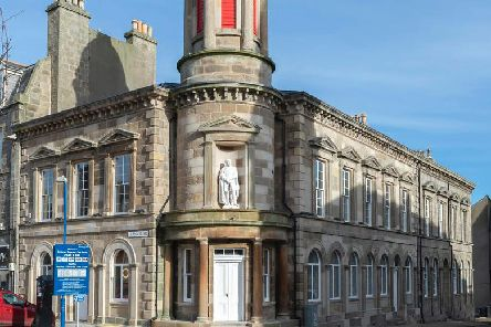 The upgraded building will soon also provide a new home for the Fraserburgh Enterprise Hub