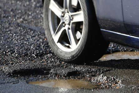Pothole complaints make up a large proportion of Mr Carson's constituency mailbag