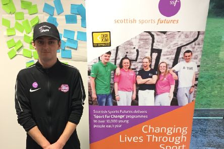 Connor Pomroy Health and Wellbeing ambassador Stranraer