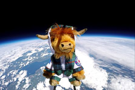 Forget Neil and Buzz, meet Scotland's coosmonaut BuzzBò!
