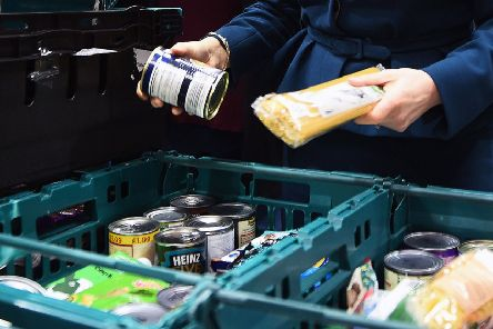 291 three-day emergency food parcels  were handed out last December, equivalent to nine every day ' including 80 to children. The charity are expecting that figure to increase this year.