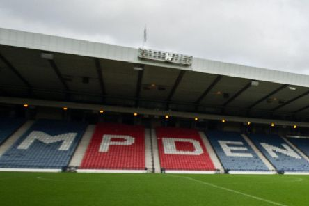 Hampden is the venue for Queen's Park v Clyde