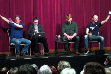 Crime writers Neil Broadfoot, Gordon Brown, Mark Leggatt and Douglas Skelton bring their show to Clarkston.