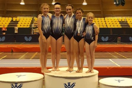 The Kingston gymnasts are still celebrating their success at the Tumbling Championships in Perth last month, and now the club is in the running for the Best Sports Club honour at this year's Glasgow Awards.