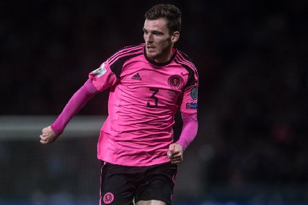Liverpool star Andy Robertson, who is expected to captain Scotland in Saturday's Euro 2020 qualifier against Cyprus, started his football career with the Giffnock club.