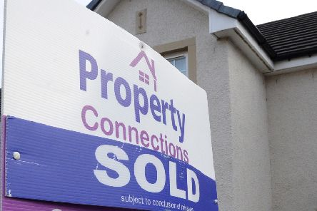 Properties in East Renfrewshire are selling for an average �48,000 more than five years ago.