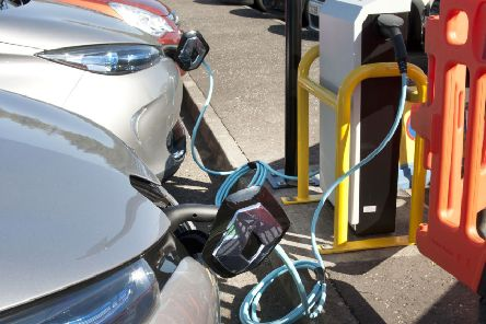 Electric cars sales are stronger in East Renfrewshire than in much of the rest of the country.