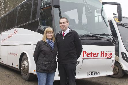 Morag Todd and Lewis Williamson from Peter Hogg's in Jedburgh.