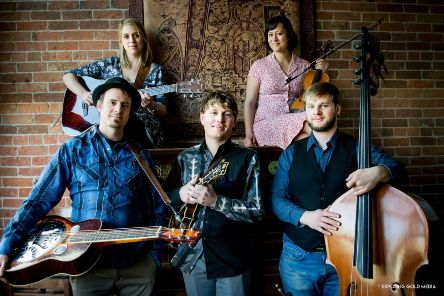 With roots in traditional bluegrass and folk, Thunder and Rain, a stylish four-piece from Colorado's Rocky Mountains,  storm into Peebles on March 27.