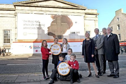 Aberdeen Performing Arts officials and the Young Ambassadors are looking forward to the re-opening of Aberdeen's Music Hall.