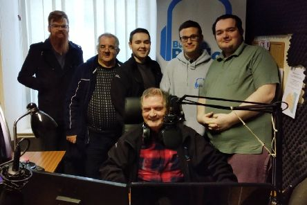 The Buchan Radio team are gearing up for their launch on FM later this month