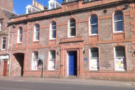 Stonehaven Town Hall is the venue for the fundraiser