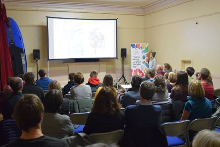 The event included a film screening and environmental talks