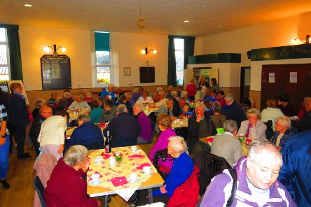 A successful coffee morning was held to raise awareness of the minibus campaign