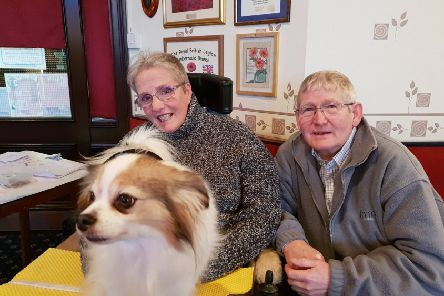 Pauline and Alex  say the generosity of others has allowed them to continue enjoying life to the full.