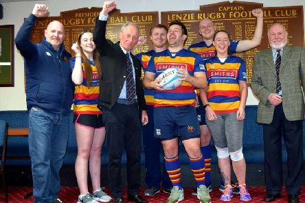 Lenzie Rugby Club are SRU Club of the Month for February