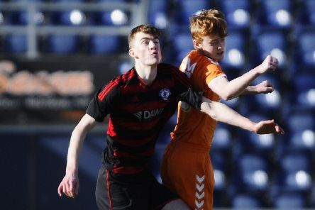 Action from Rob Roy's under-19s Scottish Cup sem-final win over Syngenta.