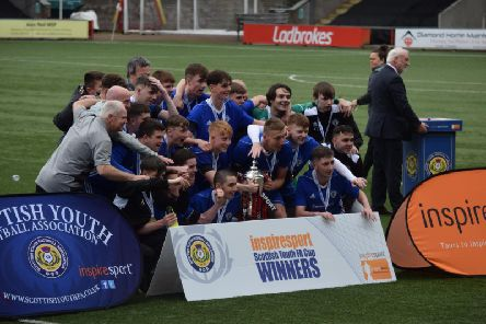 Kirkintilloch Rob Roy under-19s are this year's SYFA Scottish Cup winners