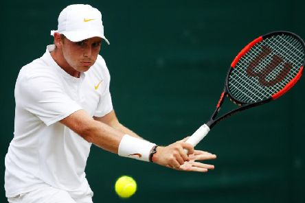 Aidan McHugh will play in next week's Wimbledon qualifying tournament (pic: Getty Images)