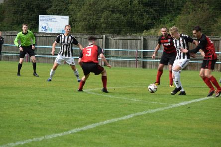 Rob Roy went down to their eighth successive defeat in losing to Beith (pic: Neil Anderson)