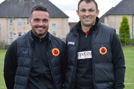 Rossvale manager David Gormley (right) and assistant Sean Higgins (pic HT Photography/@dibsy_)