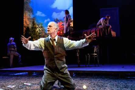 Billy Mack as Willy Loman in Dundee Rep's production of Death of a Salesman. Picture: Jane Hobson