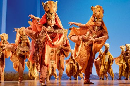 The Lion King returns to the Edinburgh Playhouse in December 2019 ' the only Scottish dates on the tour of the UK and Ireland. (Photo: Deen van Meer)