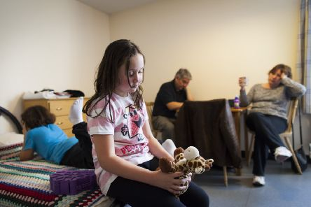 There has been a 14 per cent increase in the number of children living in temporary accommodation in Scotland since 2016 which Shelter Scotland hopes will ring alarm bells in the Scottish Parliament.